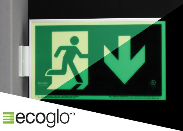Ecoglo Exit Sign